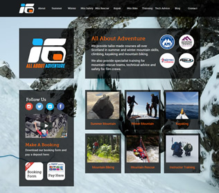 all about adventure website