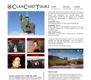 clan chief tours website