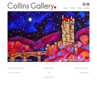 ritchie collins gallery website
